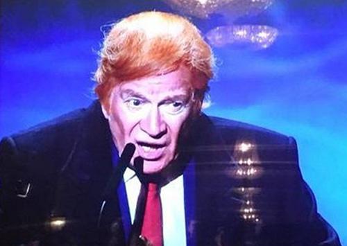 Seweryn jako Donald Trump
